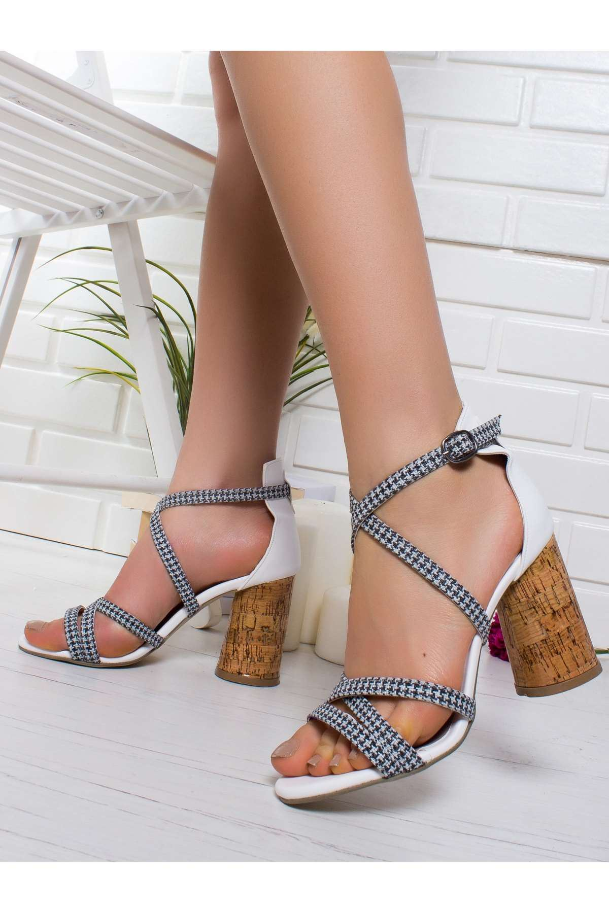 Hana Topuklu Ayakkabı BEYAZ