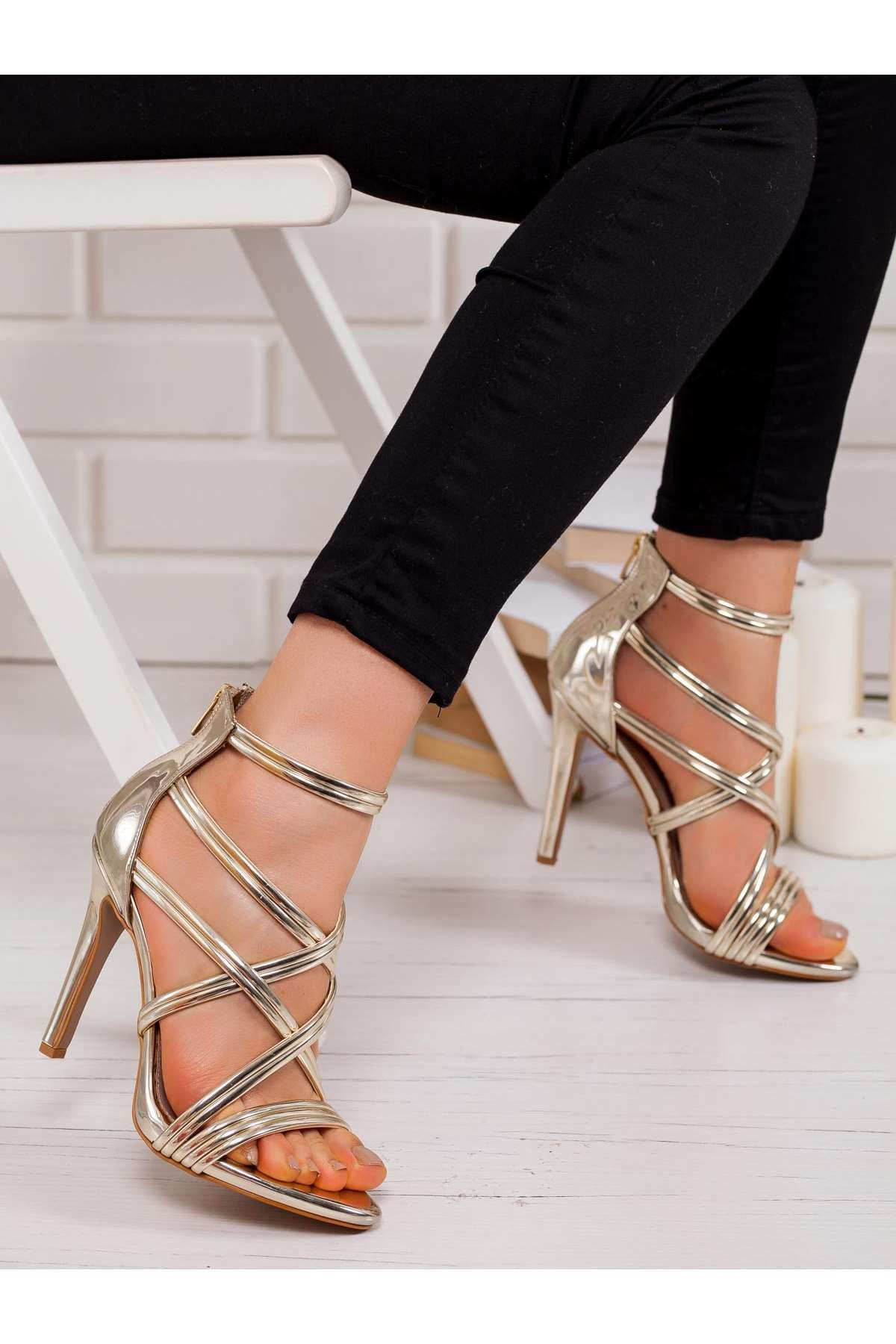 Erin Topuklu Ayakkabı GOLD