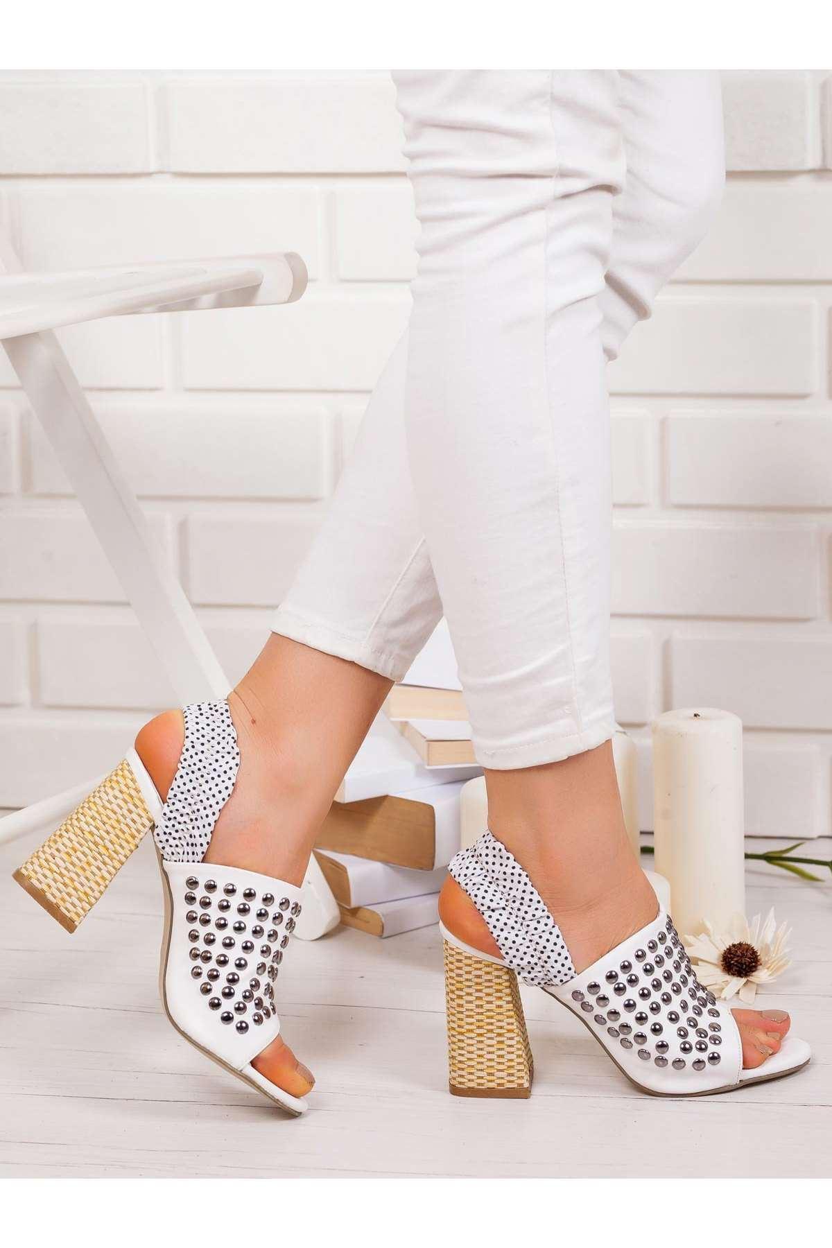 Gina Topuklu Ayakkabı BEYAZ