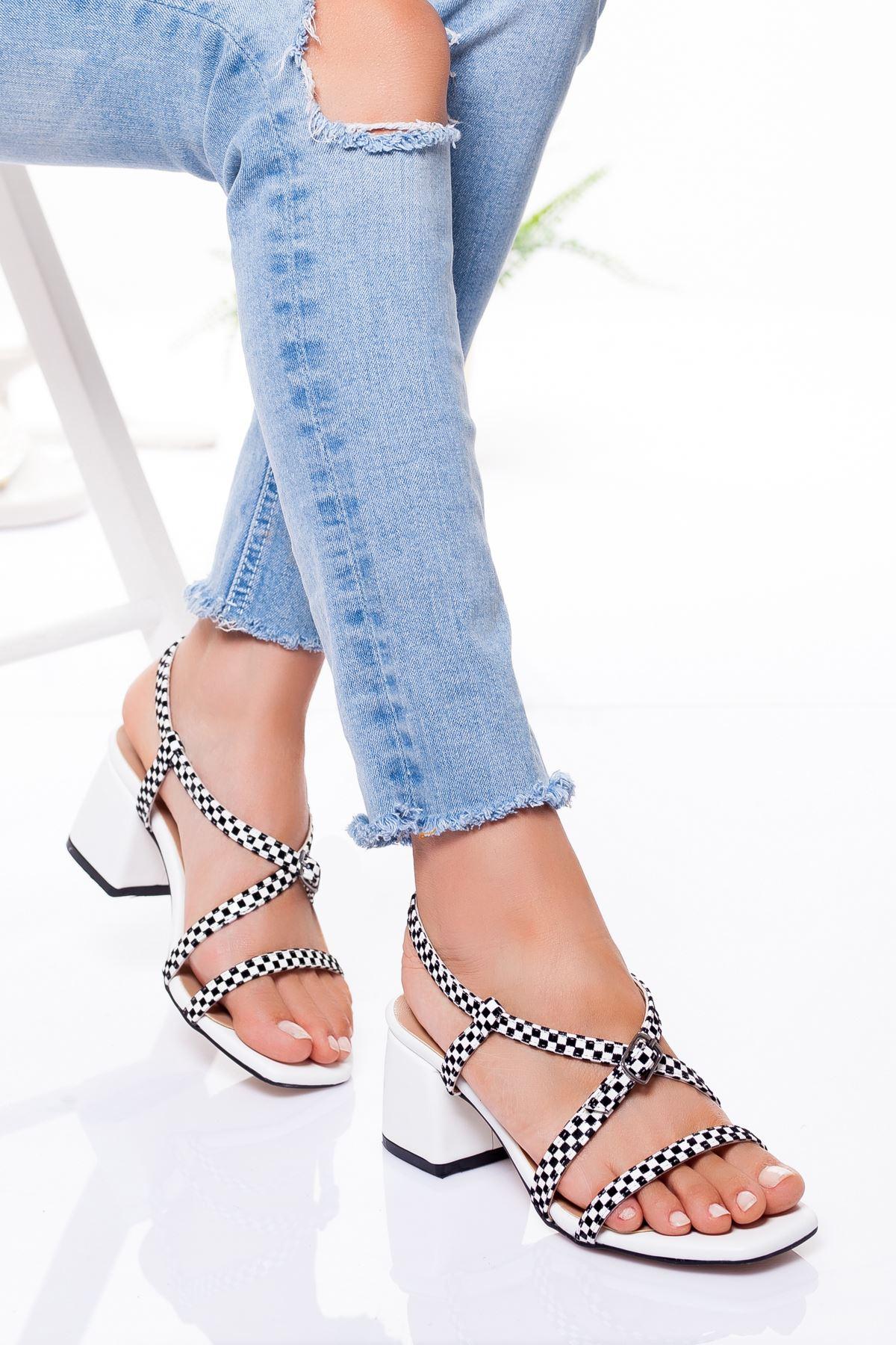 Calisto Topuklu Ayakkabı BEYAZ