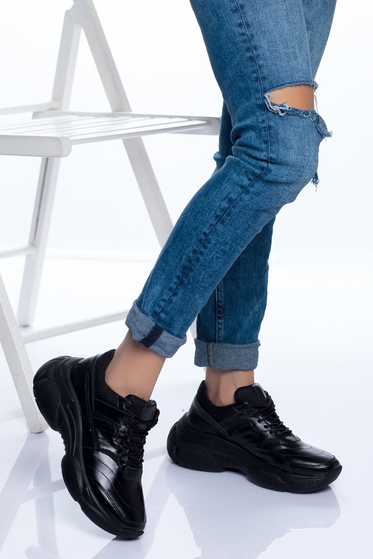 Reyna Spor Ayakkabı SIYAH