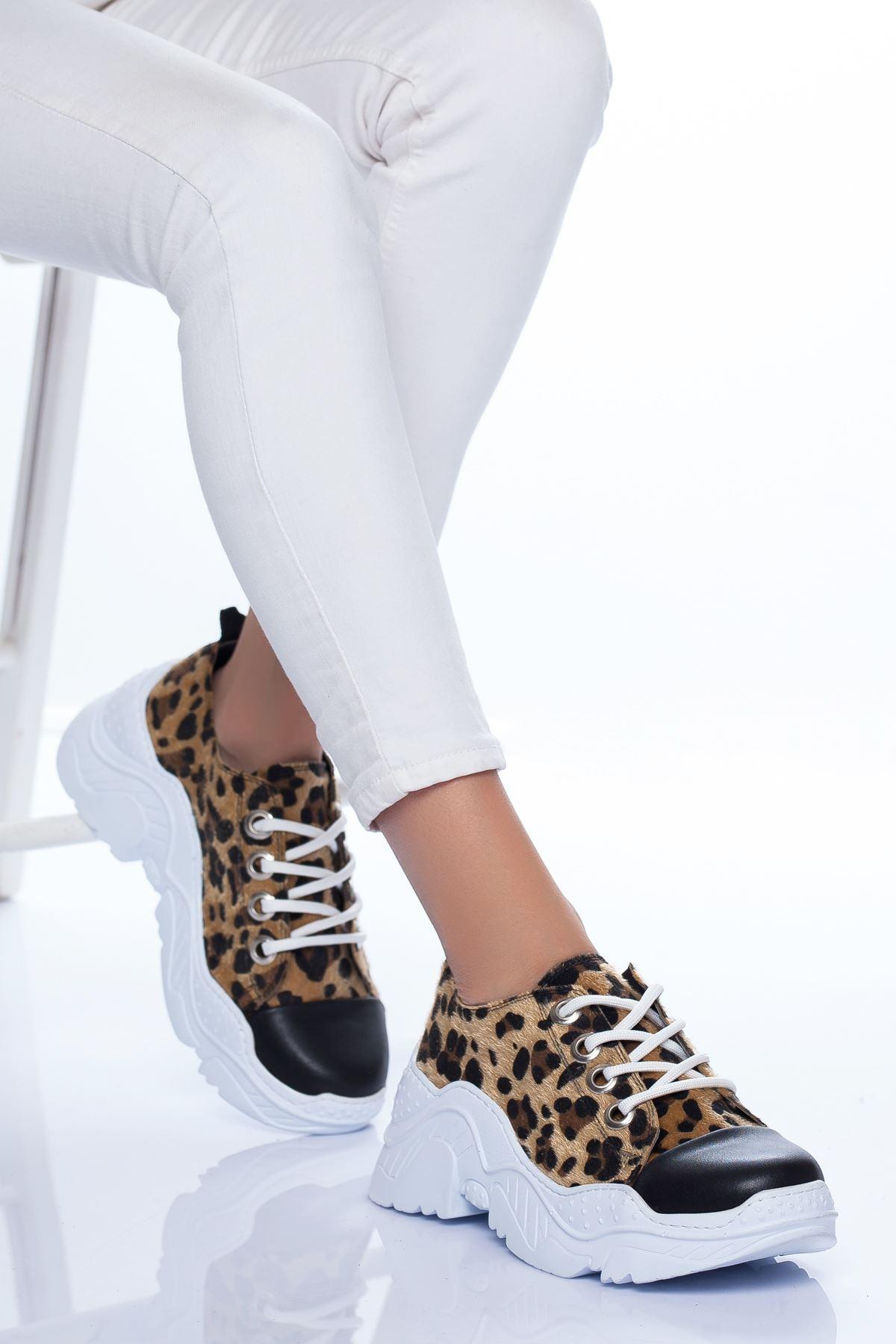 Lola Spor Ayakkabı LEOPAR