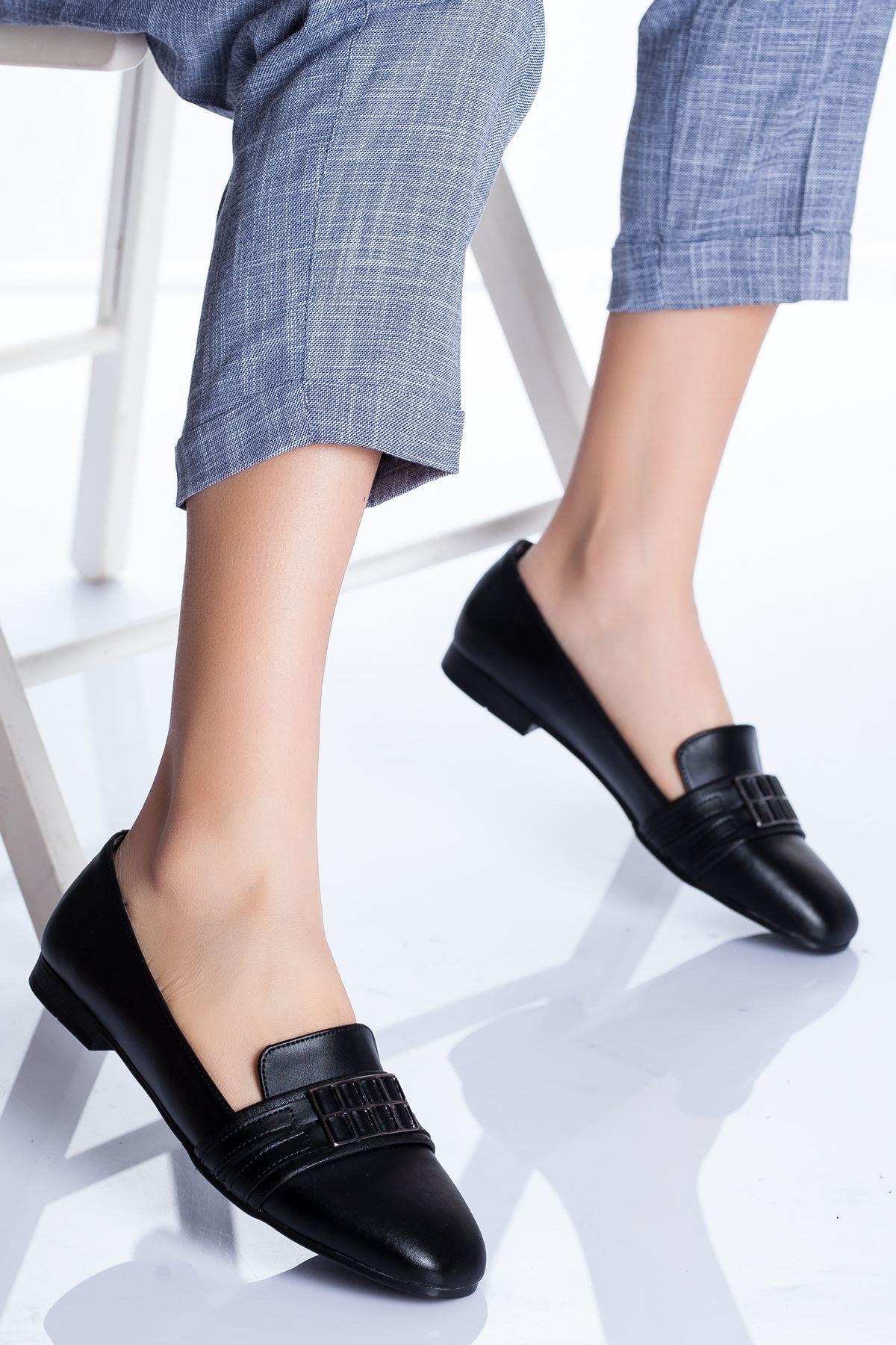 Galya Babet Ayakkabı SIYAH