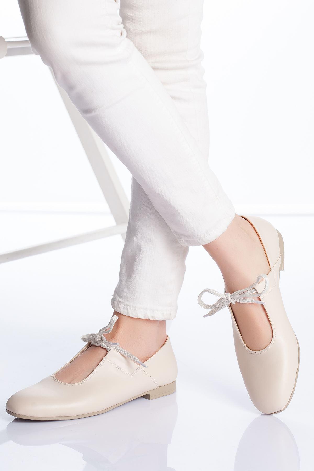 Loya Babet Ayakkabı KREM