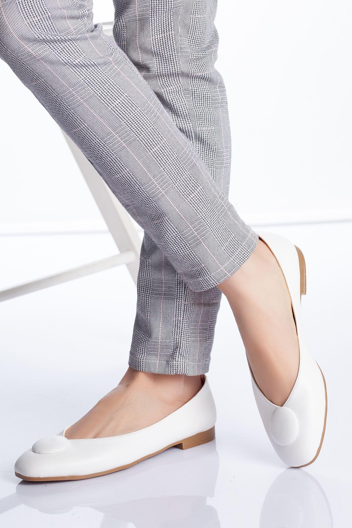 Miya Babet Ayakkabı BEYAZ
