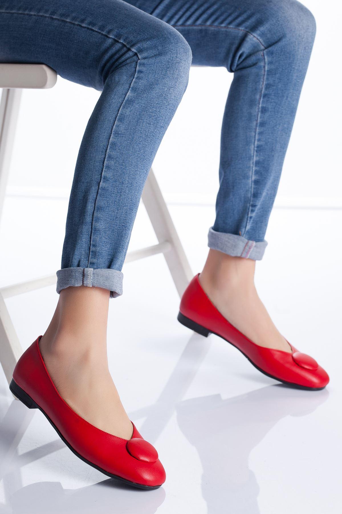 Miya Babet Ayakkabı KIRMIZI
