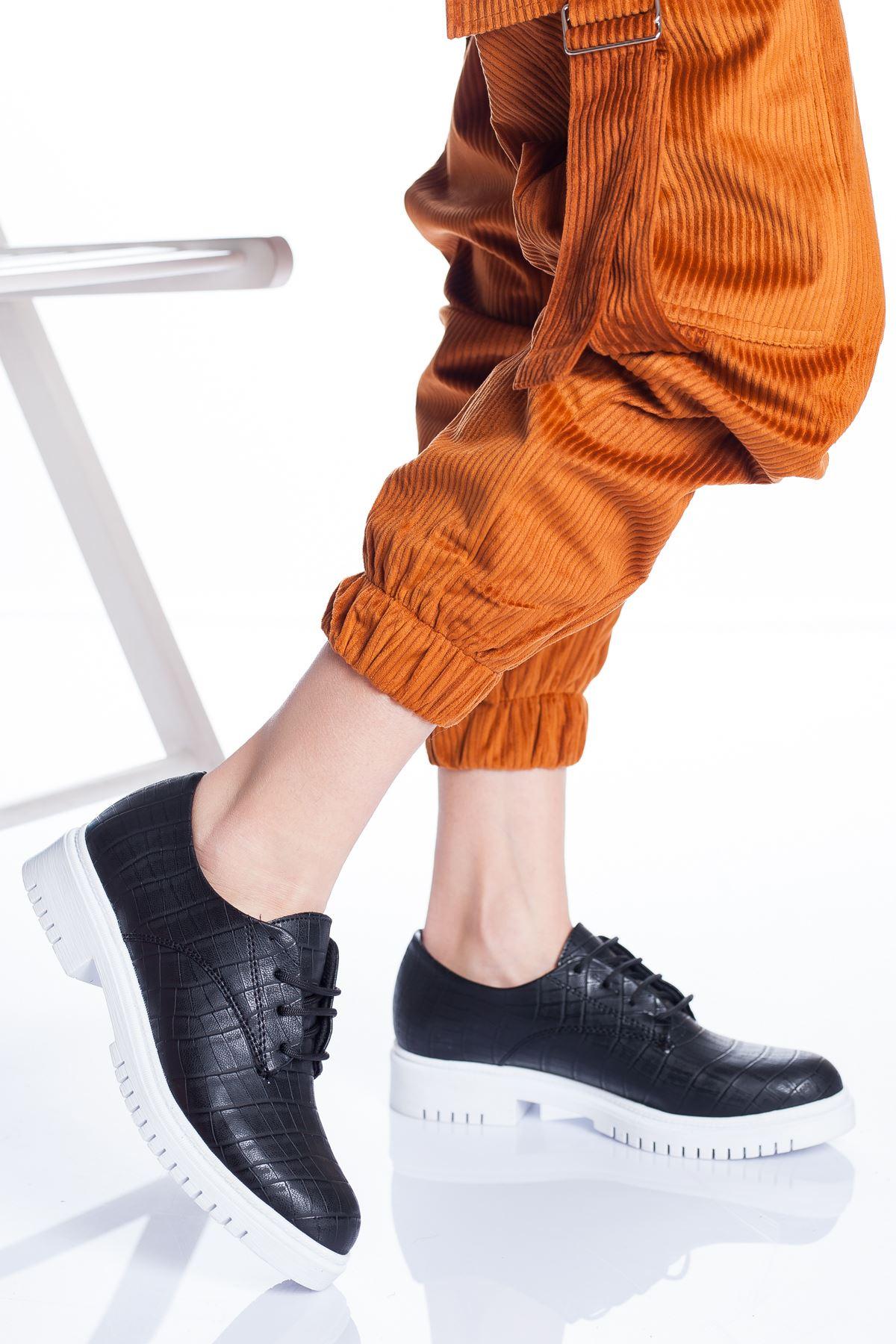 Ramona Ayakkabı SİYAH CROC