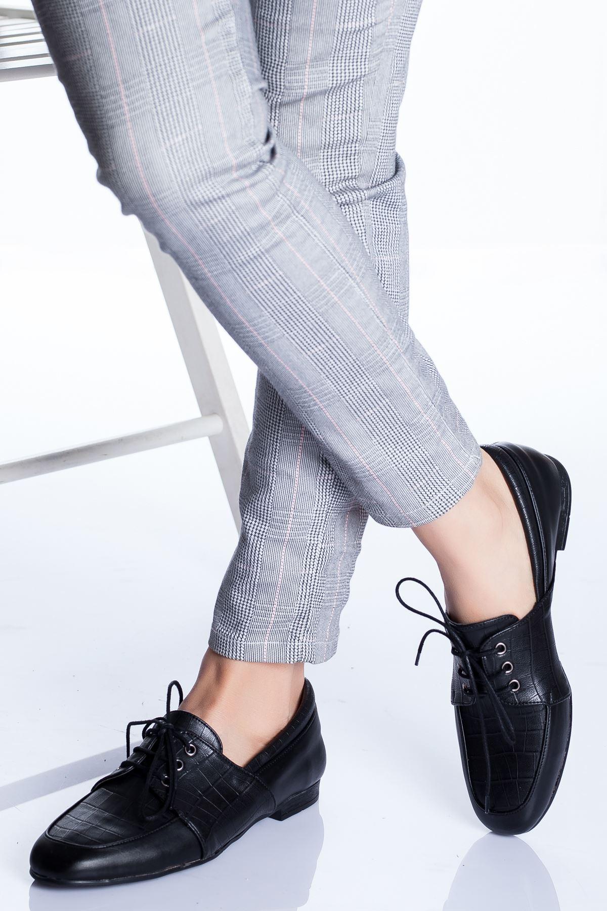 Clover Babet Ayakkabı SİYAH CROC