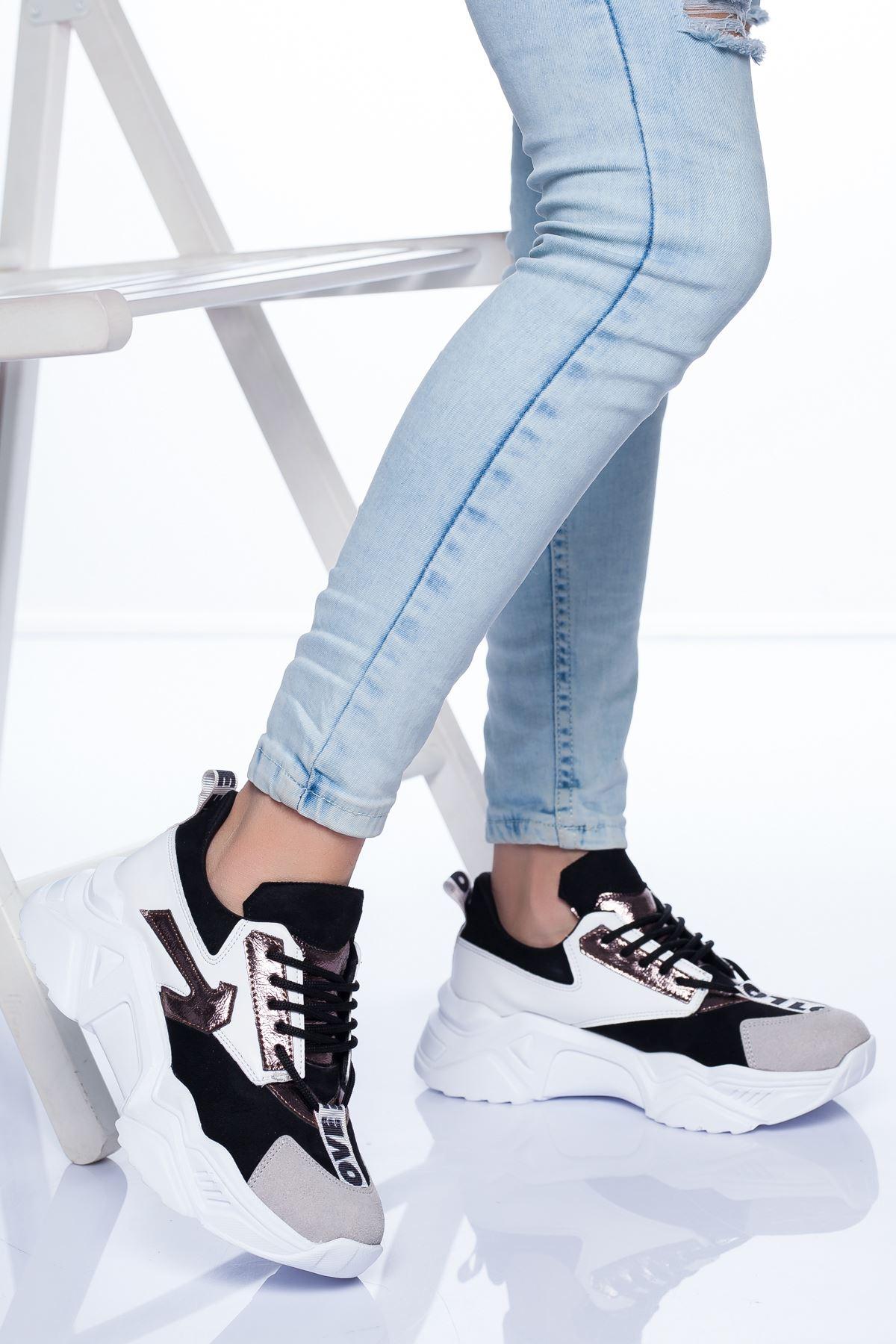 Marvin Spor Ayakkabı SIYAH