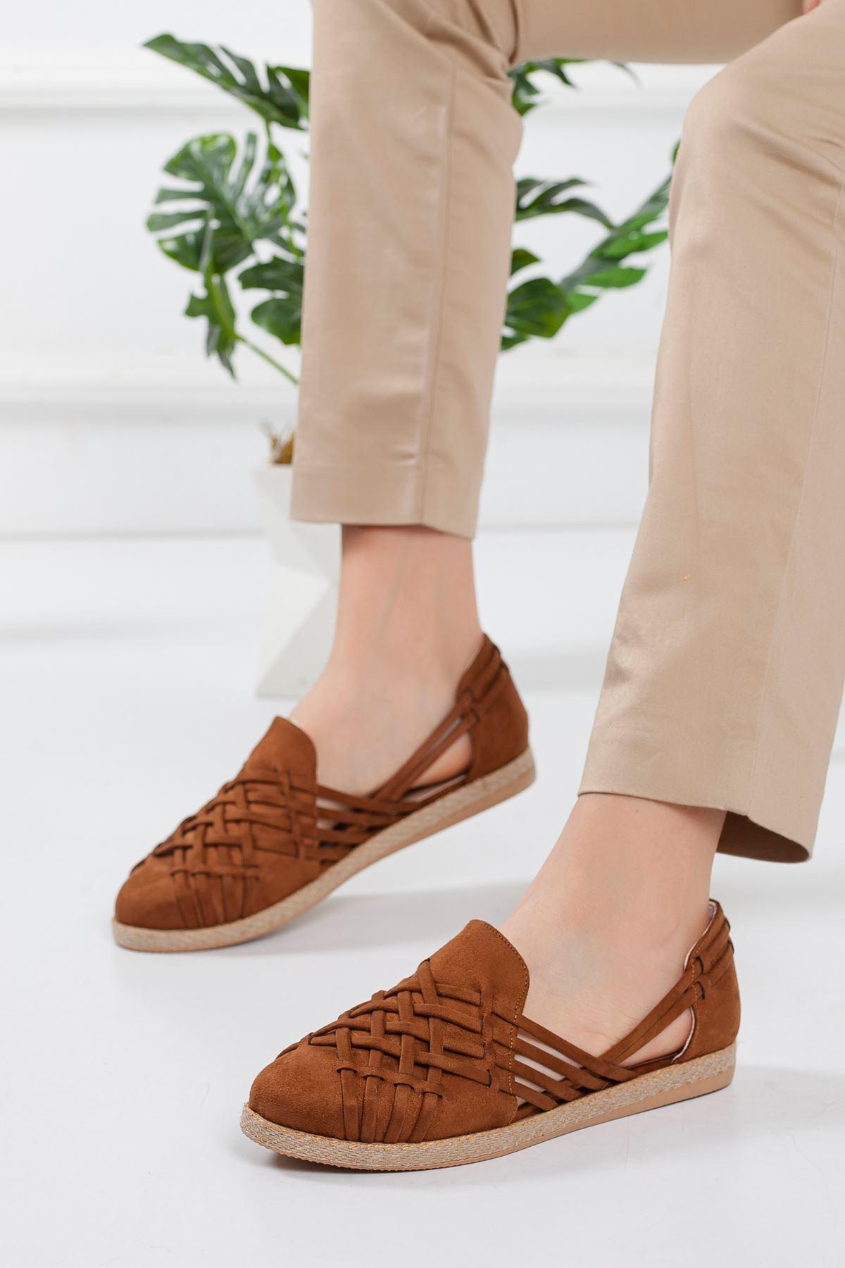 Motriz Babet Ayakkabı TABA SÜET