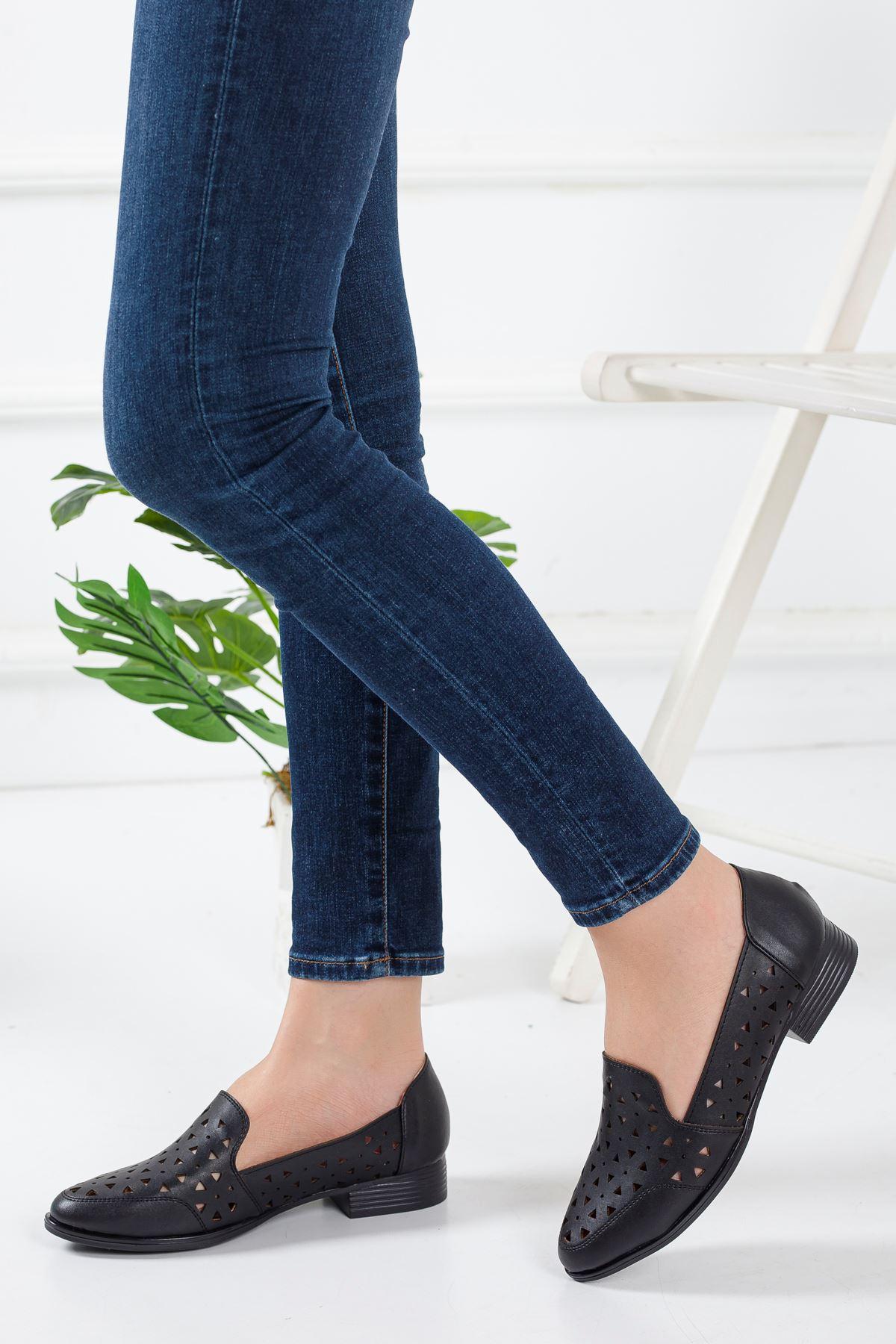 Luna Babet Ayakkabı SIYAH