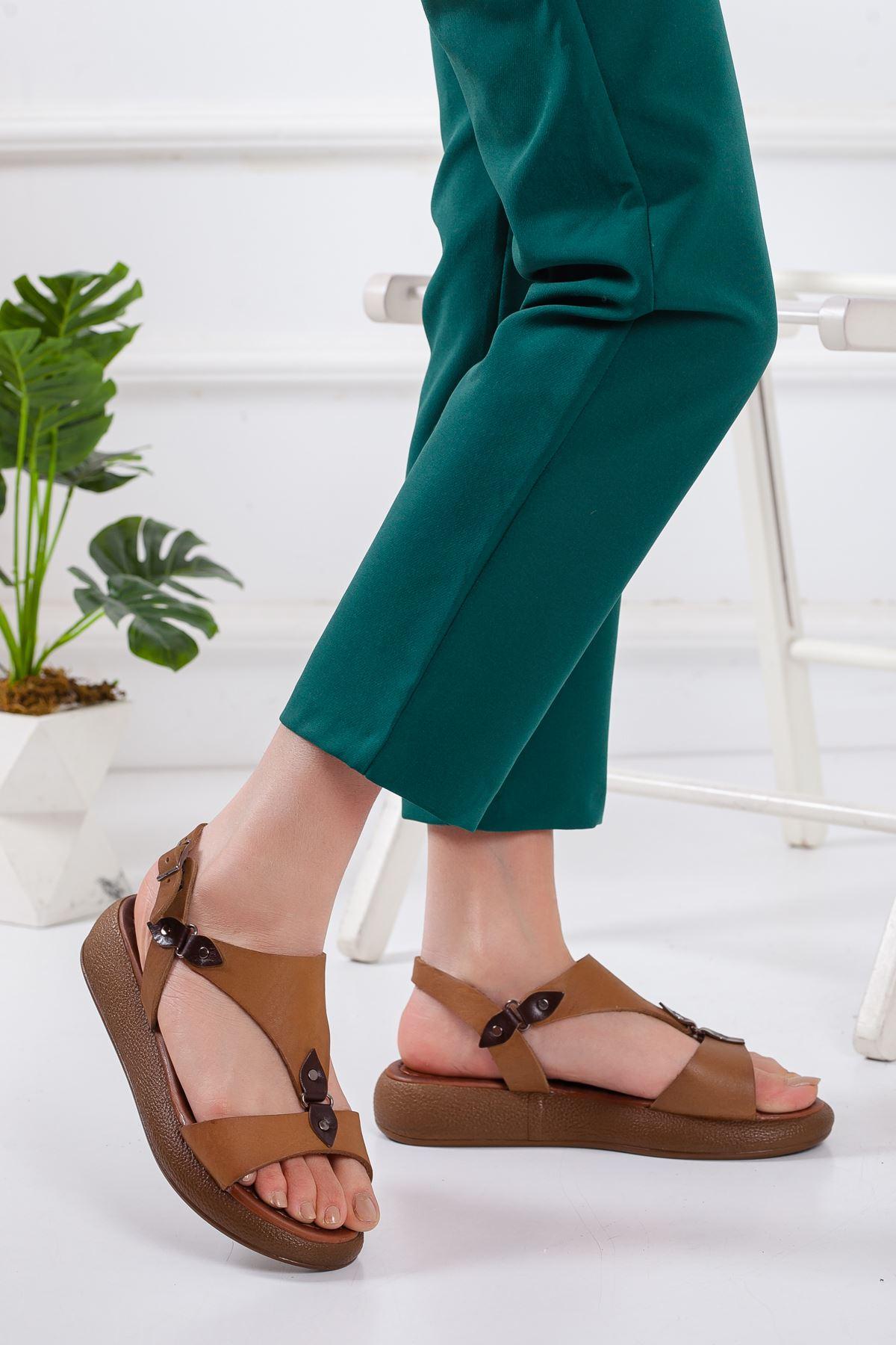 Ovve Deri Sandalet TABA