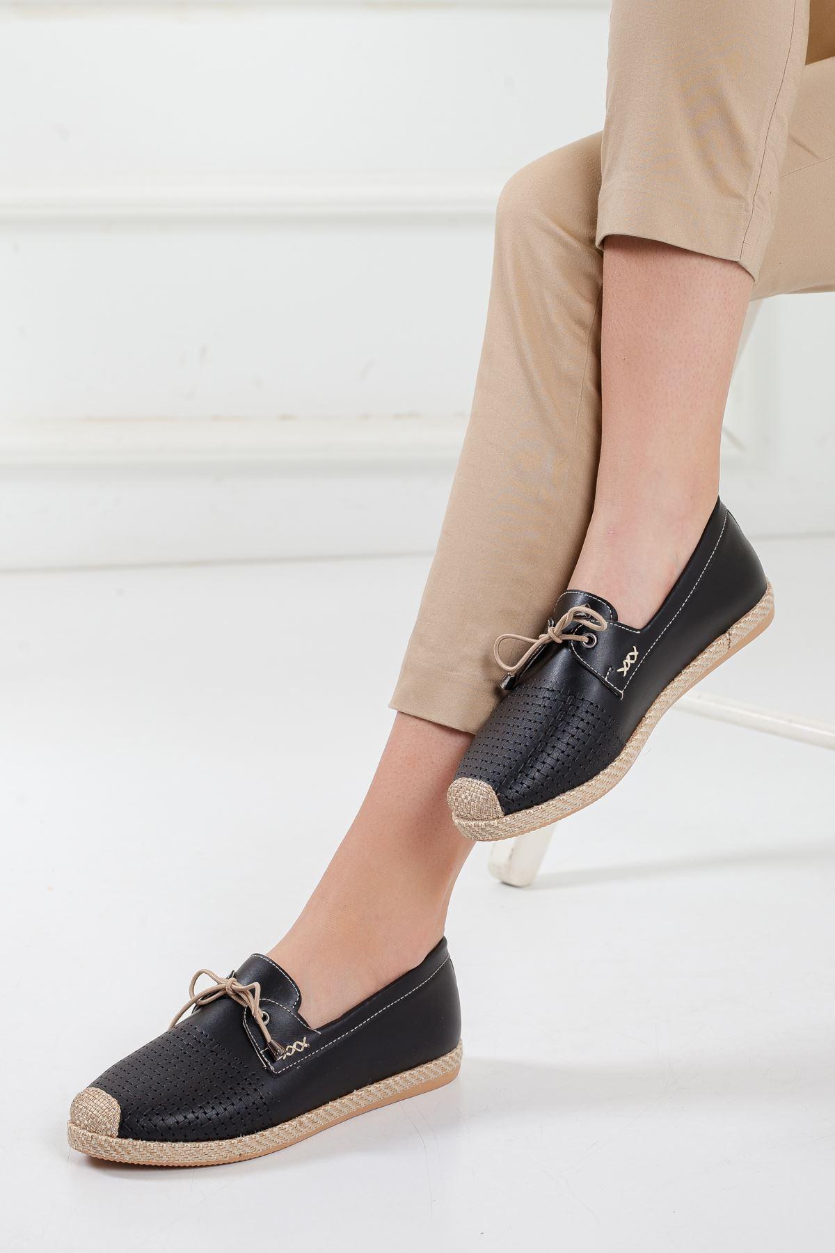 City Babet Ayakkabı SIYAH