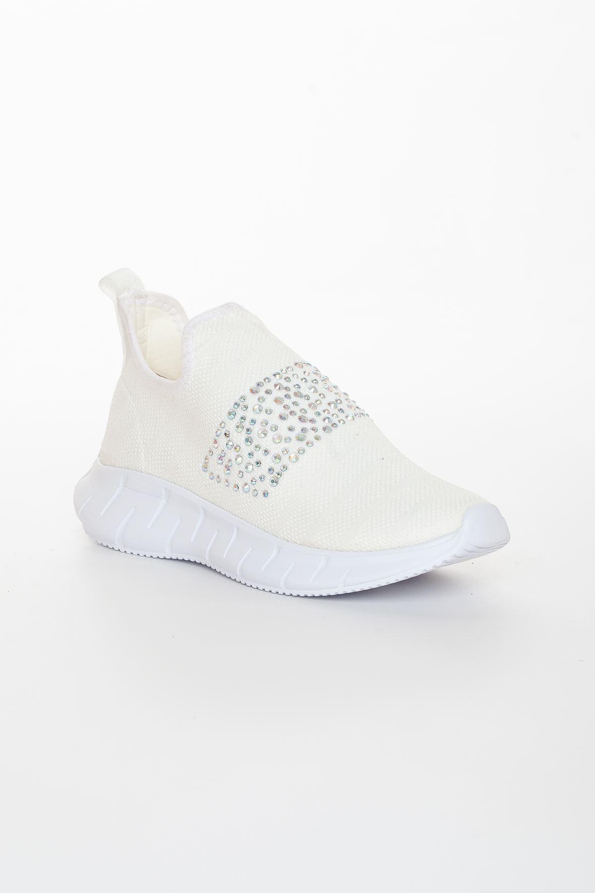 Jonger Spor Ayakkabı BEYAZ