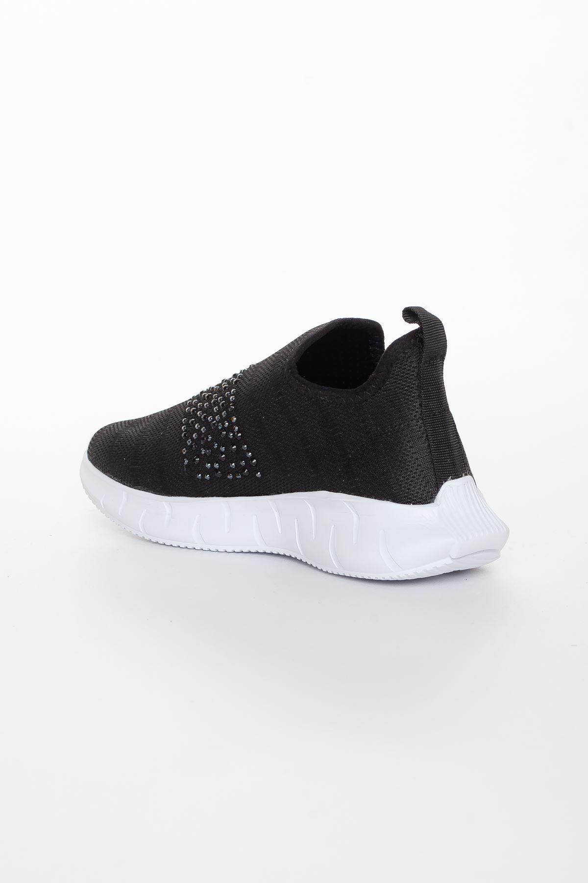 Jonger Spor Ayakkabı SIYAH