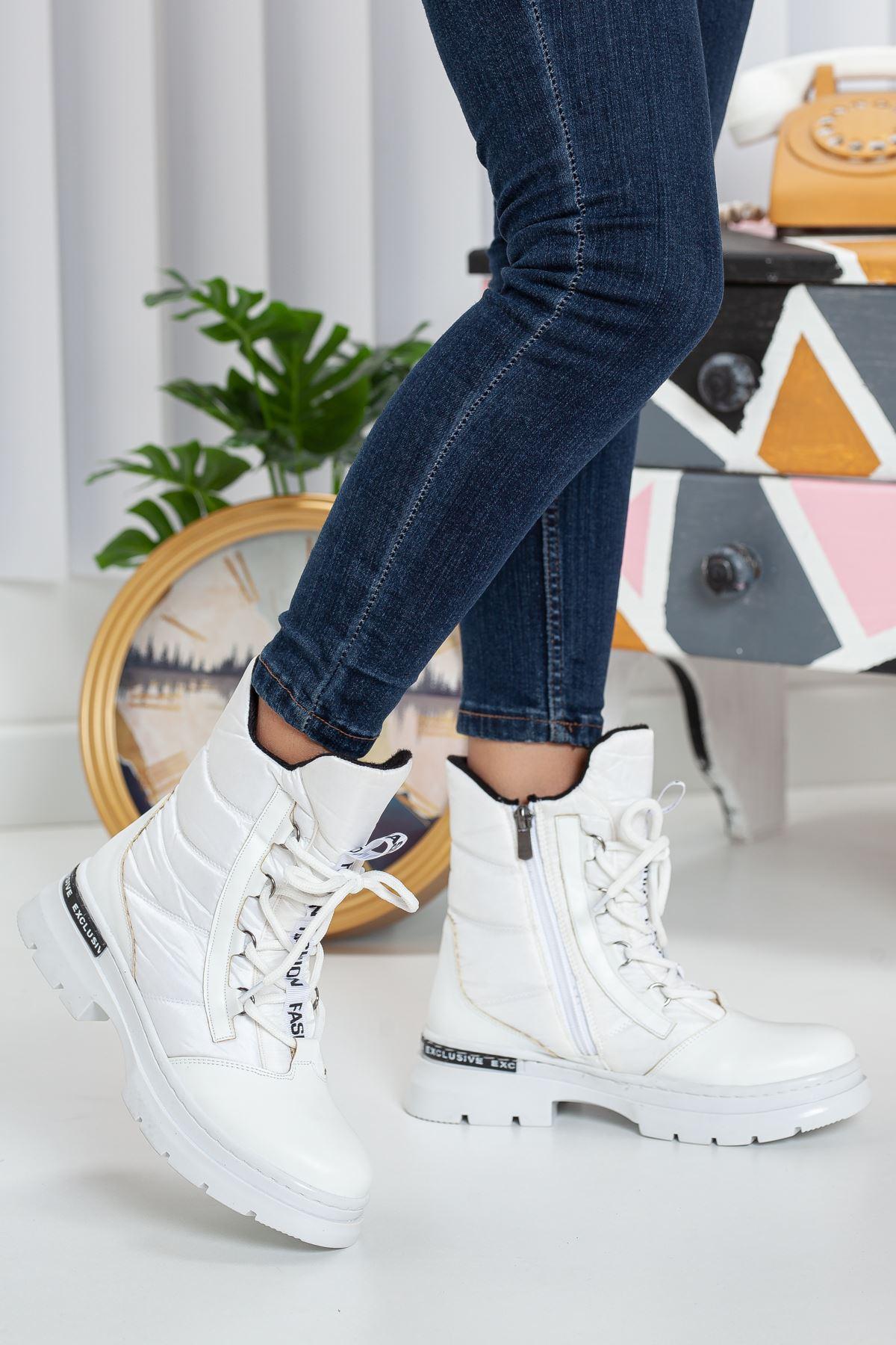 Jordan Kadın Paraşüt Bot BEYAZ